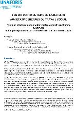 Les dix contributions de l'UNAFORIS aux Etats généraux du travail social