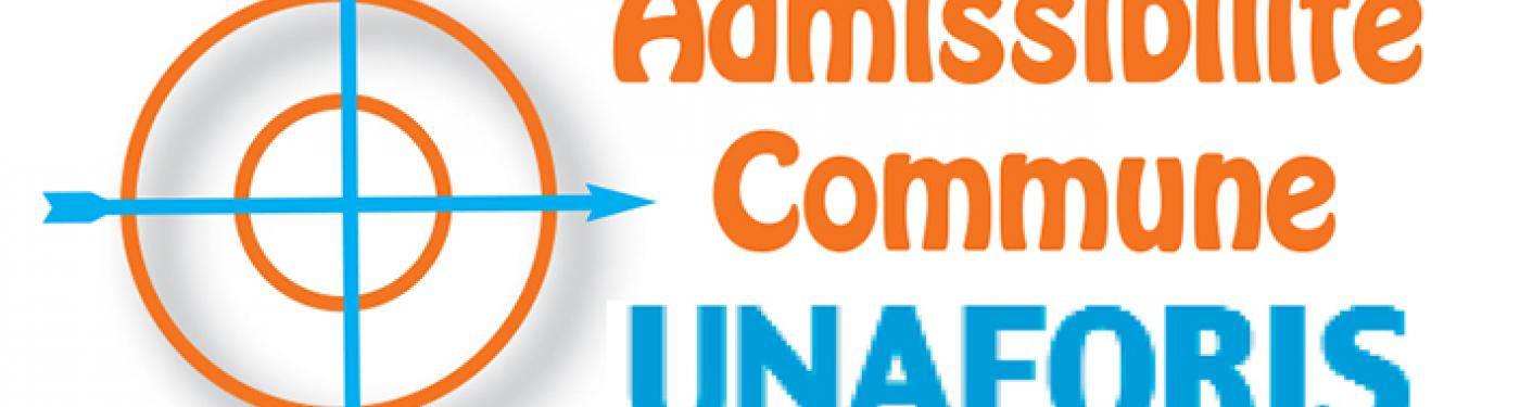 Admissibilité commune UNAFORIS